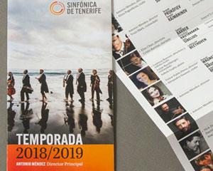 Sinfónica de Tenerife, Temporada 2018-2019