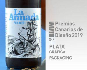 Marca y Packaging de cerveza artesanal La Armada